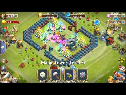 Castle Clash 40000 MIGHT Account GIVEAWAY PD CUPID VLAD SANTA BOOM AND MORE IOS