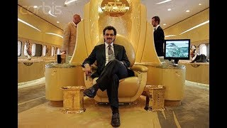 The Most Expensive an Luxurious Airplanes, Boieng 747 and Airbus A 380 of Al Waleed Ben Talal !!