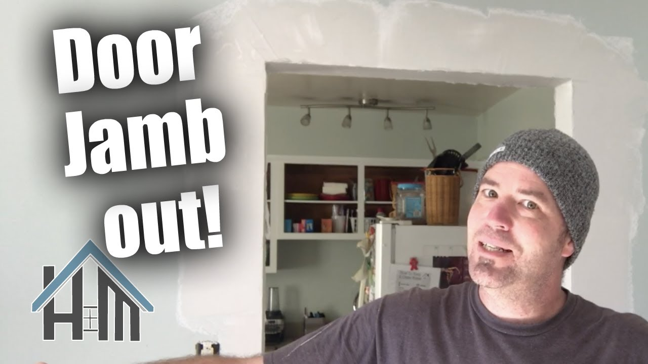 Download How to remove a door jamb, finish drywall corners  and create doorway. Easy!
