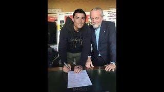 Cristiano Ronaldo al Napoli!