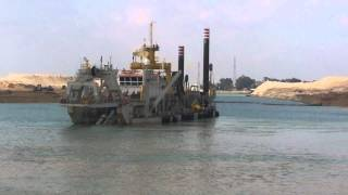 New Suez Canal: See octopus new giant Suez Canal