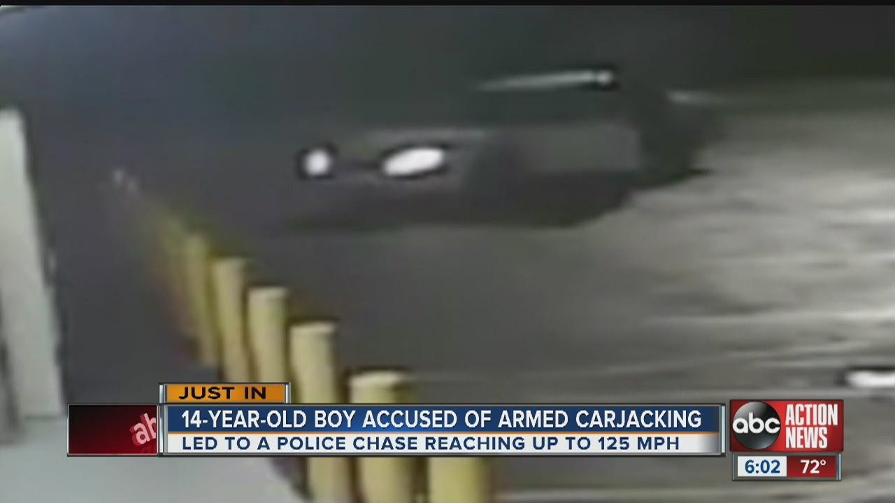 14-year-old charged in carjacking - youtube