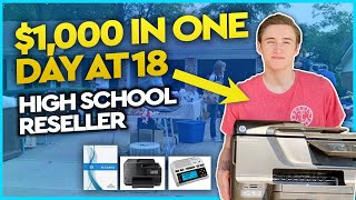 How I Made $1,000 In ONE Day At 18 Years Old In High School - Amazon FBA Reselling