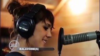 Nolwenn Leroy & Co en studio pour l'album Balavoine(s)