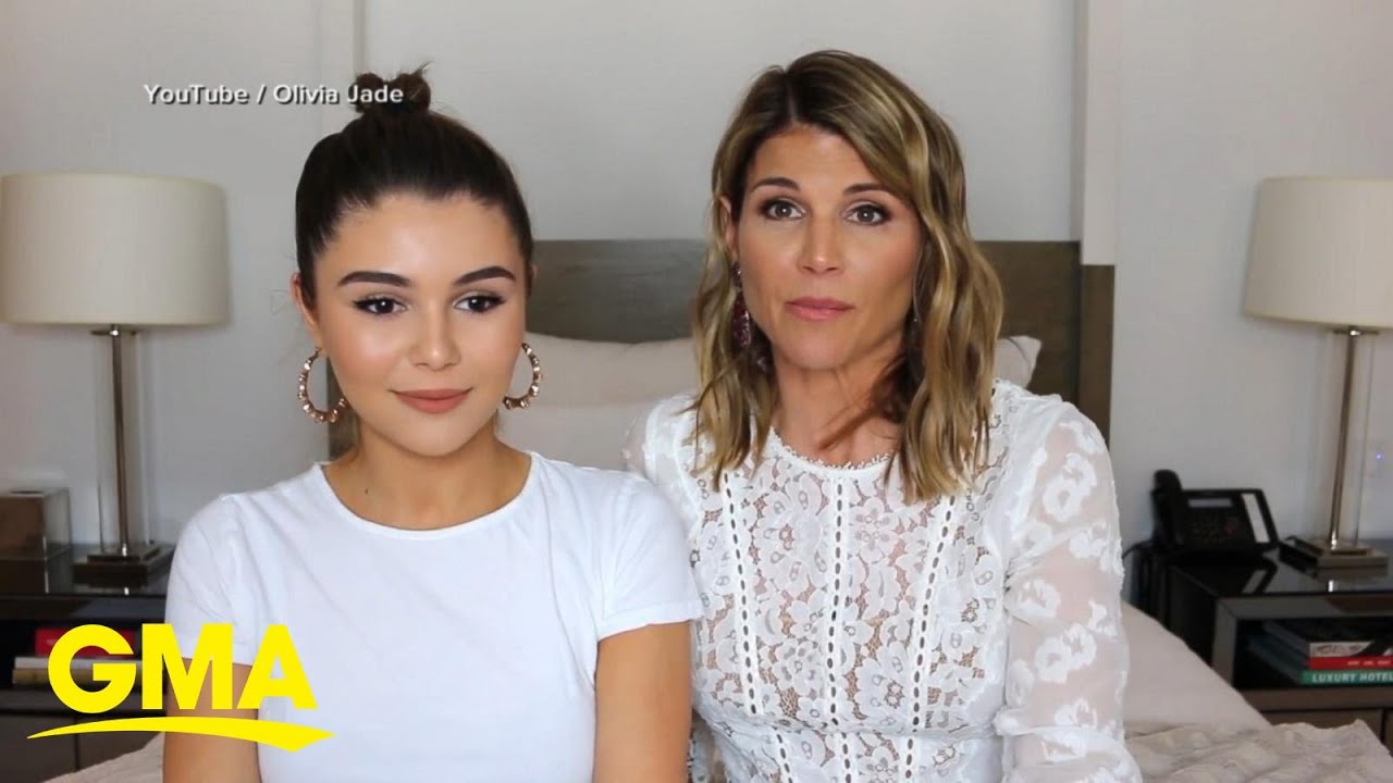 Lori Loughlin's daughter, Oliva Jade, returns to YouTube after an ...