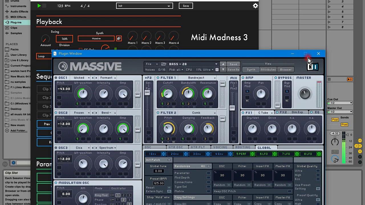 アルゴリズムメロディジェネレーター、Midi Madness Software