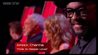 Amrick Channa - As seen on The Voice UK. (Lon)