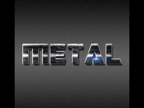 Metal Text Effect - Creating Metal Text in Photoshop