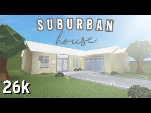 Bloxburg: Suburban House   No Gamepass   Speedbuild   GwenYT