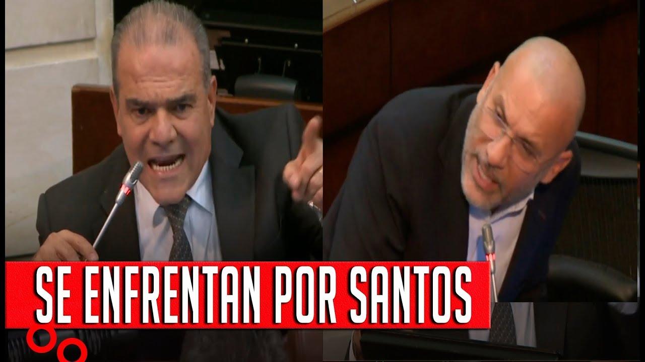Felipe Mejía pide Encerrar a Santos y Roy Barreras le Responde