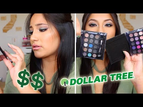$1 Dollar Store MAKEUP Haul 2017!! (DOLLAR TREE)