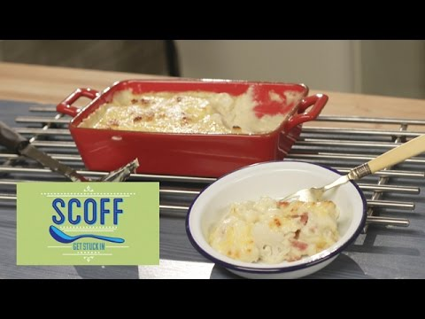 Cauliflower Cheese And Bacon | Cooking For Kids 4