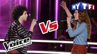 Samuel M VS Juliette – « La Groupie du pianiste » (France Gall) | The Voice France 2017 | Battle