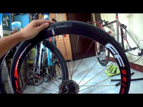 วิธีการถอด ยางนอกล้อ700c(ยางขอบพับ) Remove Bicycle tire
