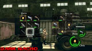 Resident evil 5 PS3 Hacked Weapons