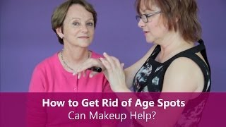 Makeup for Older Women - How to Get Rid of Age Spots with Makeup