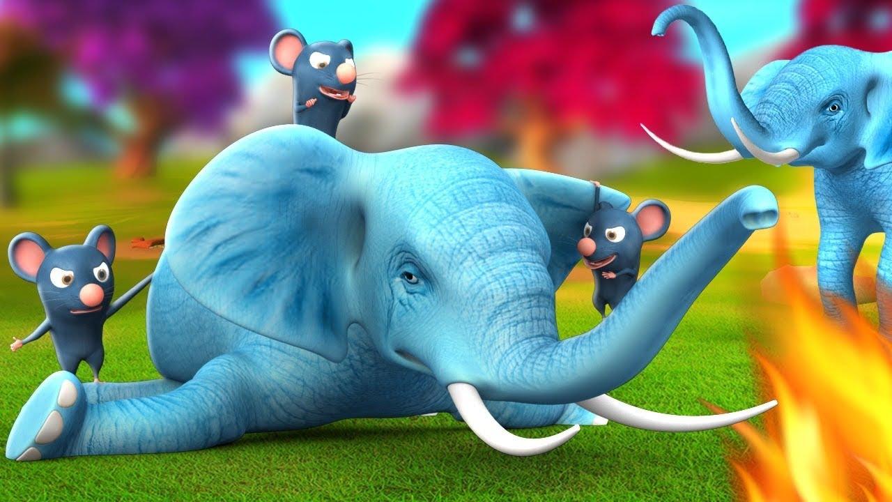 घमंडी हाथी और चूहा - The Elephant & Rat Story 3D Animated Hindi Moral Stories | JOJO TV Hindi Comedy