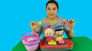 Pepee Bebe ve Seval Piknikte Pepee Mangal Yapıyor Pepee'nin Yeni Arkadaşı Çizgi Film