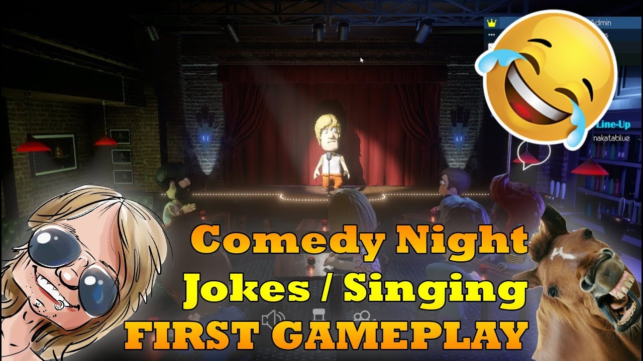 FIRST TIME Playing Comedy Night (Ep.1) |  Funny Jokes + Singing | BEST GAME EVER!?