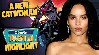 ZOE KRAVITZ CAST AS CATWOMAN | WHY WE NEED THIS - Double Toasted