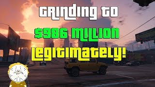GTA Online Grinding To $986 Million Legitimately And Helping Subs