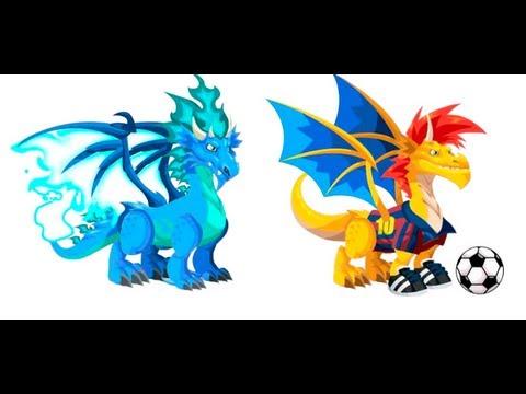 Dragon City Dragão Fogo Frio e Fogo Frio no Dragon City