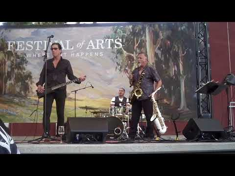 Greg Vail performs Europa at the Festival Of Arts