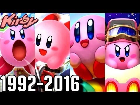 Kirby - ALL INTROS 1992-2016 (3DS, Wii U, N64, GBA, SNES)