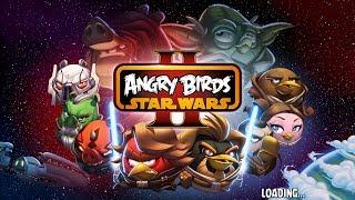 Angry Birds Star Wars 2  Злые птицы Звездные войны 2 Часть 1
