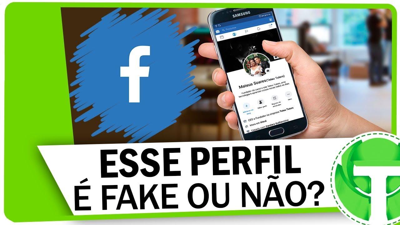 Download Como descobrir um PERFIL FALSO no Facebook pelo celular!