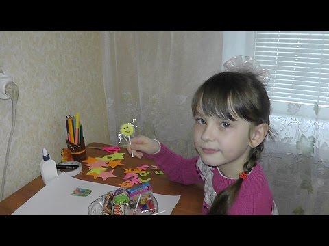 Как сделать Плакат со сладостями на День рождение))) Birthday gift