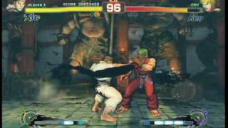 Super Street Fighter 4 - Gameplay Video 7