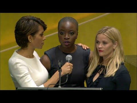 Reese Witherspoon and Danai Gurira on International Women's Day 2018