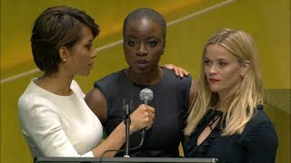 Reese Witherspoon and Danai Gurira on International Women