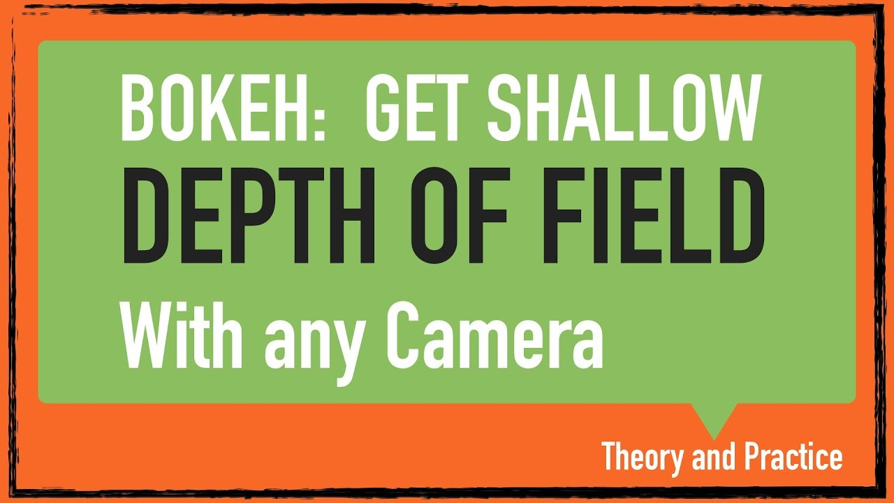 how to create shallow depth of field