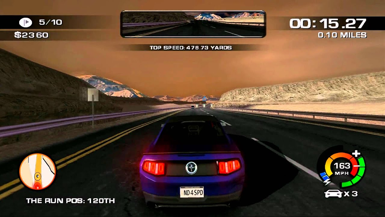 need for speed the run wii episode 7 off course death. Black Bedroom Furniture Sets. Home Design Ideas