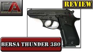 Análise (Review) da Pistola Bersa Thunder 380 Plus - Calibre 380 ACP