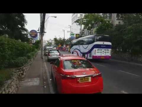 Walking from Pattaya Klang to North Pattaya Road by Pattaya 2nd Road  Read