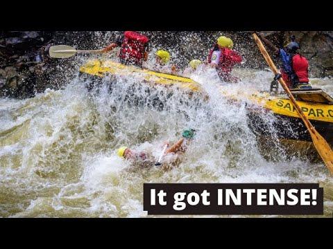 Rafting The Zambezi River *EPIC Class 5 rapids*