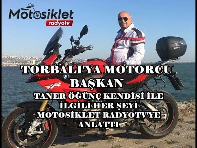TORBALI'YA MOTORCU BAŞKAN