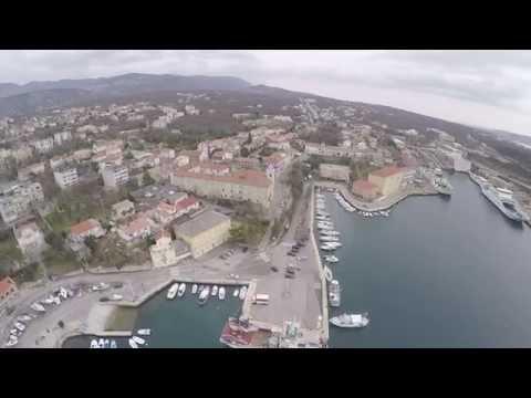 Kraljevica iz zraka - video iz zraka snimljen bespilotnom letjelicom - drugi dio