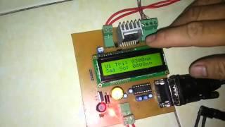 Điều khiển vị trí trên thước dùng Vi Điều khiển dsPic 30f4013 giao tiếp máy tính