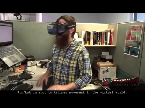 How to Run/Move in Virtual Reality