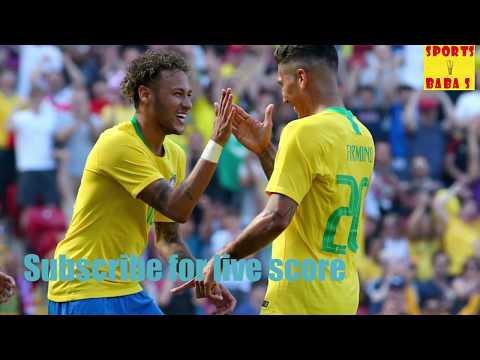 Live: brazil vs costa rica 2018 fifa world cup score || 2-0 || football match today