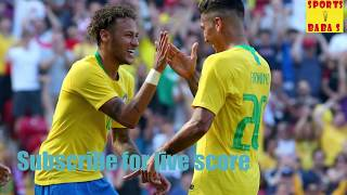 Live: brazil vs costa rica 2018 fifa world cup score || 2-0 || football match today
