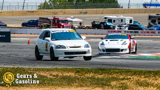 Fighting for the Podium - K-Swap Civic at Gridlife