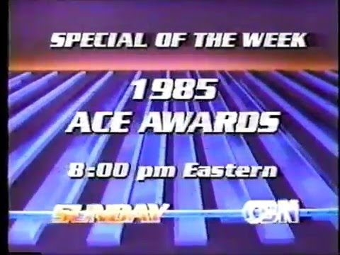 1985 Cable Ace Awards Promo