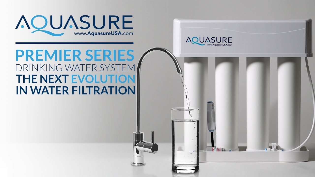 Reverse Osmosis Drinking Water System Aquasure Premier Series Reverse Osmosis Drinking Water System Long Version