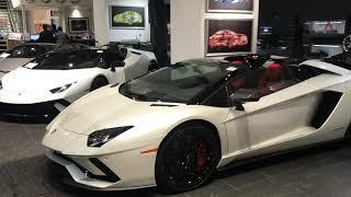 2018 Lamborghini Aventador S Roadster #LP740