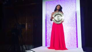 Serena Williams and Andy Murray arrive at The Champions' Dinner 2016